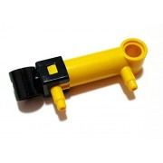 Lego Technic Yellow Pneumatic Cylinder 1 X 5, 7,84 7 M (19475)