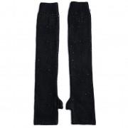 Дамски ръкавици LIU JO - Manicotto Cristalli 2F0039 M0300 Nero 22222