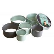Комплект от 5 бр. форми за десерти JAMIE OLIVER кръгли