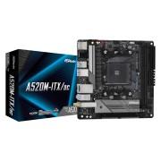 MB ASRock A520M-ITX/AC, AM4, mini ITX, 2x DDR4, AMD A520, WL, 36mj (90-MXBDG0-A0UAYZ)
