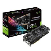 ASUS ROG Strix GeForce GTX 1070 Ti 8GB GDDR5 Advanced Edition VR Ready DP HDMI DVI Gaming Graphics Card (ROG-STRIX-GTX1070TI-A8G-GAMING) (Renewed)