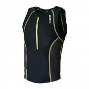 zone3 Trajes triatlón Zone3 Adventure Tri Top Black / Yellow