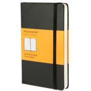 Moleskine - zápisník - linkovaný, černý S