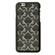 GadgetBay Coque Baroque Noire Coque Rigide iPhone 6s et iPhone 6s Fleur Damas
