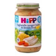 Hipp bébiétel, tagliatelle tengeri hallal és brokkolival 220 g