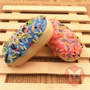 Squishy Toys Simulate French Bread Soft Cake Colorful Coconut Home Office Decor Phone Bag Straps