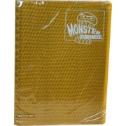 Monster Binder 9 Pocket Trading Card Album Holofoil Gold (Anti Theft Pockets Hold 360+ Yugioh, Pokemon, Magic The Gathering Cards)