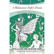 A Midsummer Night's Dream: Coloring Novel Edition, Paperback/William Shakespeare