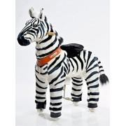 PonyCycle Toy Ride On Pony Zebra Medium