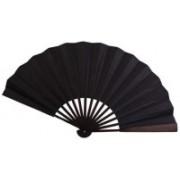 Jaipurikala Self Design Black Hand Fan(Pack of 1)