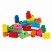 Set cuburi constructii moi parfumate multicolore Clemmy 100 piese