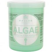 Kallos KJMN mascarilla hidratante con extraco de algas y aceite de oliva 1000 ml