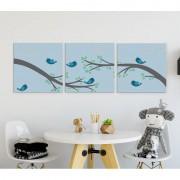 MagisWall slike na platnu Birds