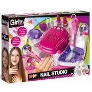 Clementoni Set manichiura Nail Studio Girlz 50035