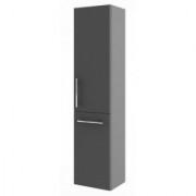 Dulap inalt suspendat, pentru cos de rufe, Aquaform Amsterdam, antracit, 40x32xH170 -0415-202012