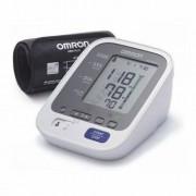 Omron M3 Comfort automata felkaros vérnyomásmérő nagy (22-42cm), okos mandzsettával + adapter
