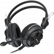 Casti cu microfon, A4Tech, HS-28, on-ear, cu fir, Negru
