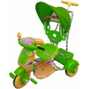 Oh Baby Baby Bike Musical With Color Wheel 3 In 1 Function Green Color Tricycle For Your Kids SE-TC-38