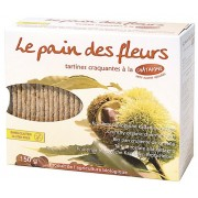 Flowers bread with chestnuts 150g Bio