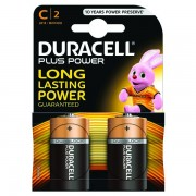 Duracell Plus C Battery (Pack of 2)