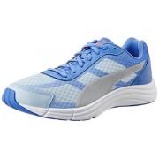 Puma Women's Expedite Wn Lt Blue-Ultramarine-Silver Mesh Running Shoes - 5 UK/India (38 EU)