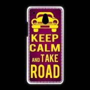 Coque Htc One Mini Keep Calm And Take O Road 2 Rose