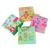 Youbedo Soft Books Cloth Baby Books Baby First Book Non-Toxic Children Educational Toys - ABC