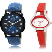 The Shopoholic Black Blue White Combo Stylist Designer Combo Pack 2 Black And Blue And White Dial Analog Watch For Boys And Girls Analog Watches For Boy