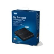 DD EXTERNO PORTATIL 2TB WD MY PASSPORT WIRELESS PRO NEGRO 2.5 USB 3.0/RANURA SD 3.0/CONTRASEÑA/WIN-MAC