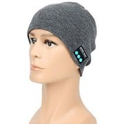 Casual Bluetooth 3.0 Warm Beanie Hat Megadream Washable Headphone with Handsfree Music Mic Headwear for iPhone iPad iPo