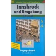 Freytag & Berndt Freytag & Berndt FB WK 333 Innsbruck und Ungebung 1:25 000
