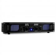 Skytec SPL-2000 EQ Hifi PA Усилвател2U DJ LED Ефект (SKY-178.799)