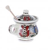 Vas Miere ceramica colorata Corund 200 ml
