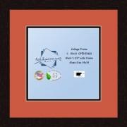 Arte a marcos doble-multimat 640-693/89-FRBW26061 alfombrilla de fotos con Collage enmarcado alfombra doble con 1-10 x 10 aberturas y café exprés marco