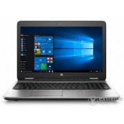 Laptop HP ProBook 650 G2 V1C17EA, negru + Windows 10 Professional, layout tastatura maghiara