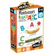 JOC TACTIL MONTESSORI ABC - HEADU (HE20942)