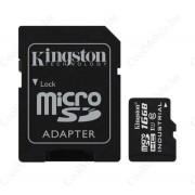 Kingston microSDHC 16GB (Class 10) UHS-I Industrial Temp, memóriakártya adapterrel (SDCIT/16GB)
