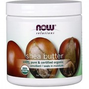 Now Foods 100% Pure Organic Shea Butter 7 Ounce