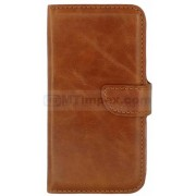 Bookstyle case Samsung Galaxy J7 SM-J710F 2016 - Bruin