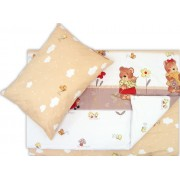 Lenjerie pat copii ursuletul gradinar