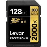 Lexar 2000X 128 GB SDHC Class 10 300 MB/s Memory Card