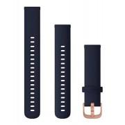 Garmin Quick Release 18 Silikon - Klockarmband - Marinblå