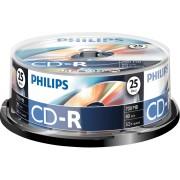 PHI CR7D5NB25/00 - Philips CD-R 700, 52x Speed, Spindel 25