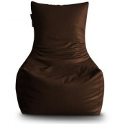Home Story Chair Bean Bag XXXL Size Brown Color With Beans