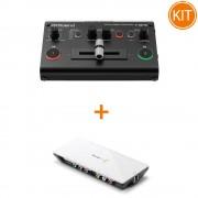 Kit Live 2 Camere cu Switcher Roland V-02HD Full HD 2 Canale + Placa de Captura Blackmagic Intensity Shuttle USB