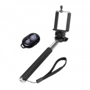 Selfie bot + Bluetooth távkioldó, fekete