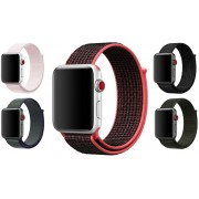 Apple Nylonový řemínek Apple Nike+ 42 mm růžový