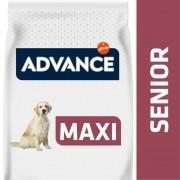 14kg Advance Maxi Senior con pollo pienso para perros