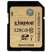 Карта памет Kingston 128GB SDXC Class 10 UHS-I Ultimate Flash Card, KIN-SDA10/128GB