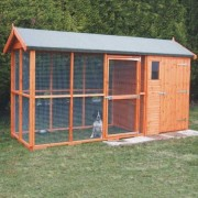 A1 Sam's Kennel and Run: 4 Sizes